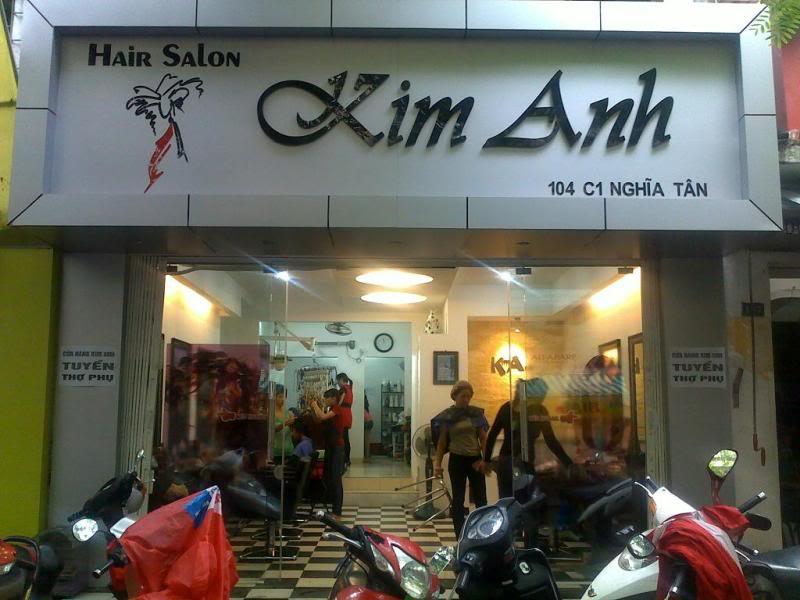 Làm Bảng Hiệu Quảng Cáo Cho Salon Tóc - Tiệm Uốn Tóc
