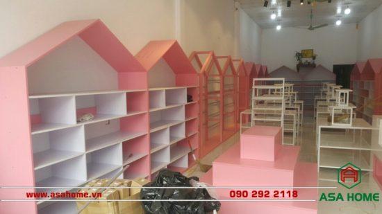 Công trình thiết kế shop thời trang Rose Kids