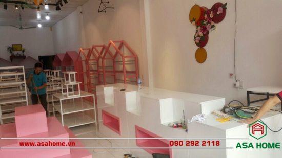 Thiết kế shop thời trang Rose Kids