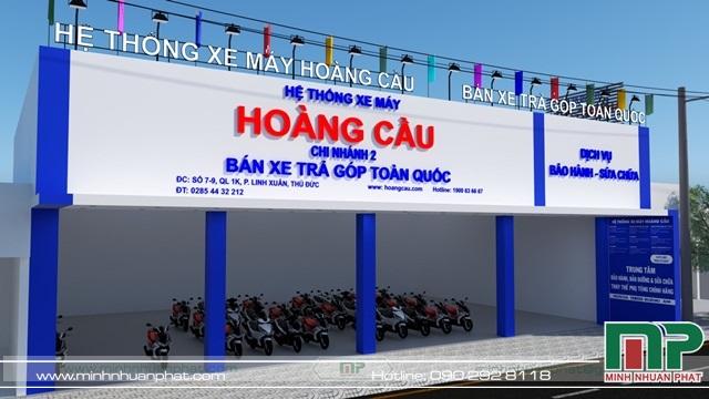 Mẫu bảng hiệu hợp phong thủy do Minh Nhuận Phát thực hiện